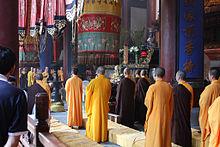 Monastic life-Buddhism