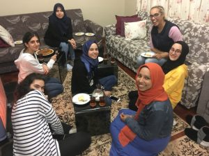 A special interfaith young women's Iftar with students from the THI Star College student house
