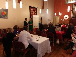 The Unitarian Church opens their doors to an Iftar meal