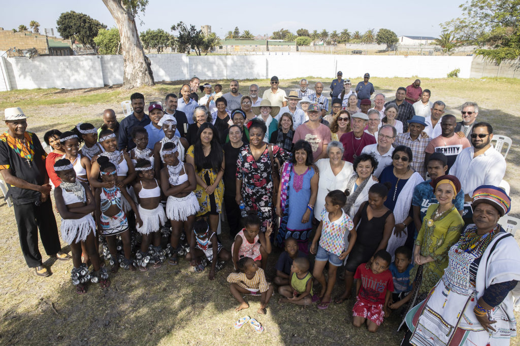 Capetonians and leaders of all different faiths gathered to pray for the city at a park in ElsieÕs River on Sunday, February 2, 2020. The event was part of the Seven Sacred Days in Cape Town initiative as part of World Interfaith Week.